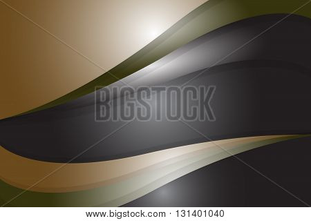 abstract curve and wavy geometric background material design overlap layer vector illustration
