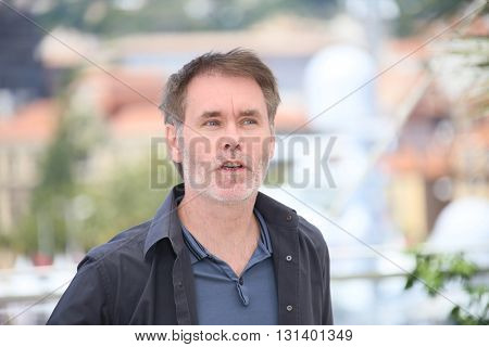 CANNES, FRANCE - MAY 21: Jean-Francois Richet attends the 'Blood Father' Photocall during the 69th annual Cannes Film Festival at Palais des Festivals on May 21, 2016 in Cannes, France