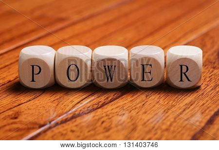 Power Word Concept