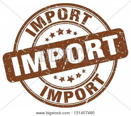 import brown grunge round vintage rubber stamp.import stamp.import round stamp.import grunge stamp.import.import vintage stamp.