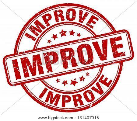 improve red grunge round vintage rubber stamp.improve stamp.improve round stamp.improve grunge stamp.improve.improve vintage stamp.