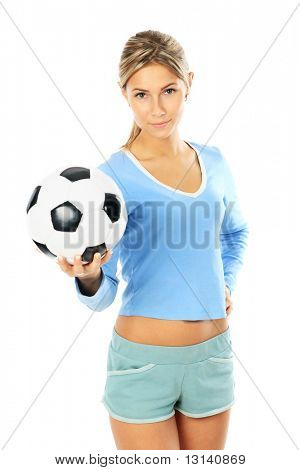 Shot of a sporty young woman. Active lifestyle, wellness.