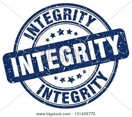 integrity blue grunge round vintage rubber stamp.integrity stamp.integrity round stamp.integrity grunge stamp.integrity.integrity vintage stamp.