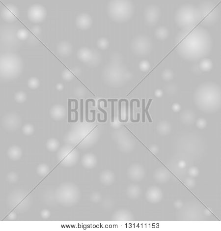 Colorful background with bright bokeh and particles. Vector EPS10