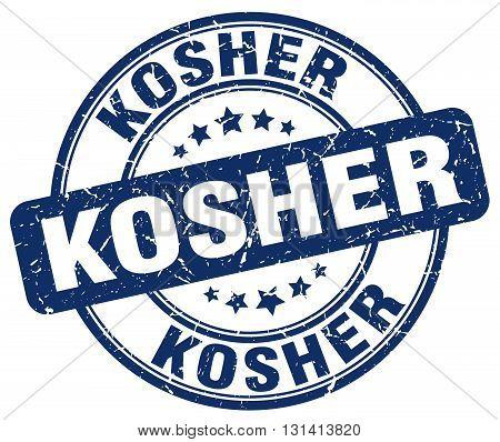 kosher blue grunge round vintage rubber stamp.kosher stamp.kosher round stamp.kosher grunge stamp.kosher.kosher vintage stamp.