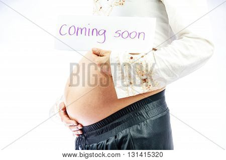 Ninth Month Of Pregnancy.
