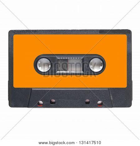 Tape Cassette Orange Label
