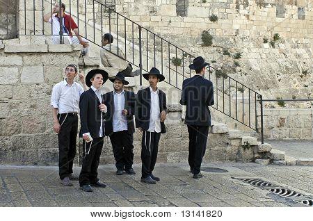 Young Jewish Men, Jerusalem
