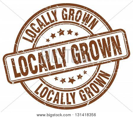 locally grown brown grunge round vintage rubber stamp.locally grown stamp.locally grown round stamp.locally grown grunge stamp.locally grown.locally grown vintage stamp.