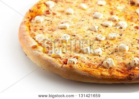 Tasty Pizza with Cheese and Spice