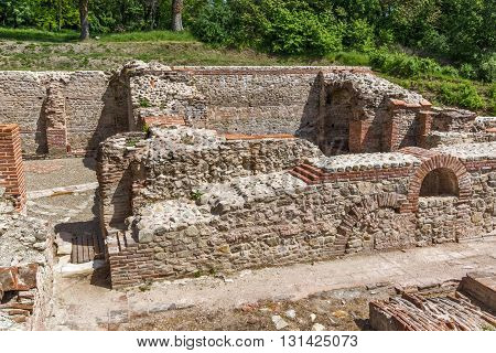 Ruins of The Thermal Baths of Diocletianopolis, town of Hisarya, Plovdiv Region, Bulgaria