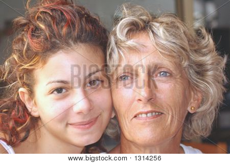 Portrait Of Two Generations
