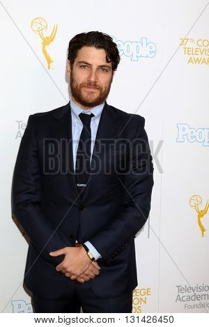 LOS ANGELES - MAY 25:  Adam Pally at the 37th College Television Awards at Skirball Cultural Center on May 25, 2016 in Los Angeles, CA