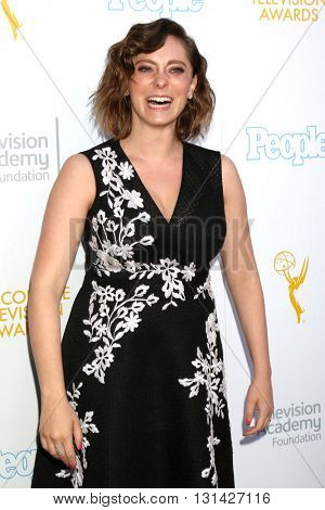 LOS ANGELES - MAY 25:  Rachel Bloom at the 37th College Television Awards at Skirball Cultural Center on May 25, 2016 in Los Angeles, CA