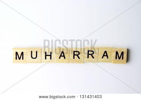 muharram named of month in islamic calendar