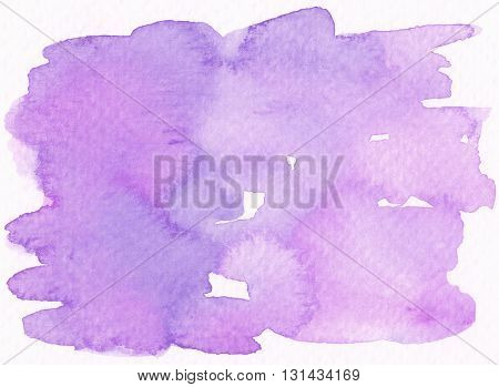 abstract purple violet wet watercolor grunge textures background