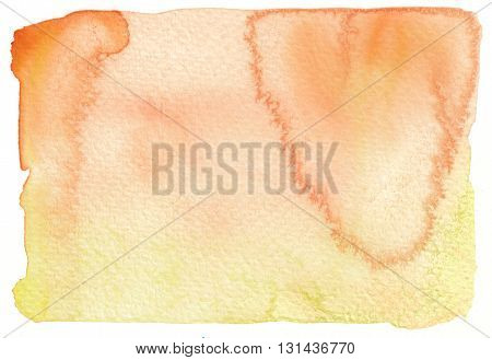 abstract grunge orange yellow watercolor background textures