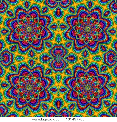 Colorful abstract seamless pattern. You can use it for invitations notebook covers phone case postcards cards ceramics carpets and so on. Artwork for creative design art and entertainment.