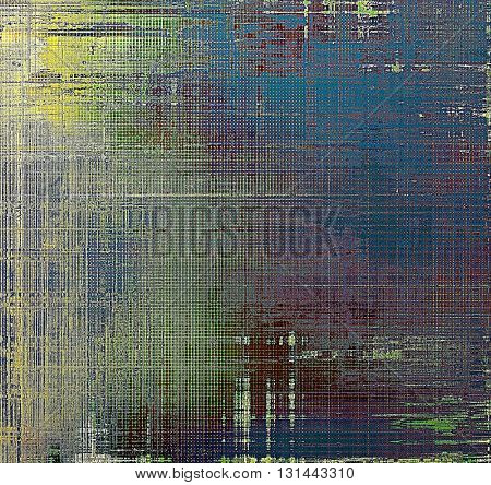 Art vintage texture for background in grunge style. With different color patterns: yellow (beige); brown; gray; green; blue; purple (violet)