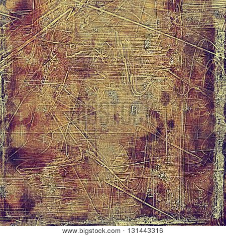 Grunge background for your design, aged shabby texture with different color patterns: purple (violet); yellow (beige); brown; pink; gray