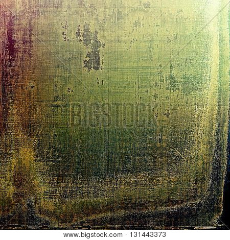Colorful grunge background, tinted vintage style texture. With different color patterns: yellow (beige); brown; gray; green; purple (violet); black