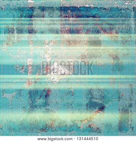 Creative vintage surface texture, close up grunge background composition. With different color patterns: yellow (beige); gray; blue; cyan