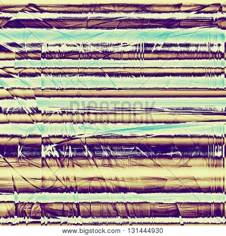 Abstract grunge background or damaged vintage texture. With different color patterns: yellow (beige); brown; blue; purple (violet); white; cyan