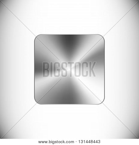 The steel icon representing stop button for web or mobile devices.