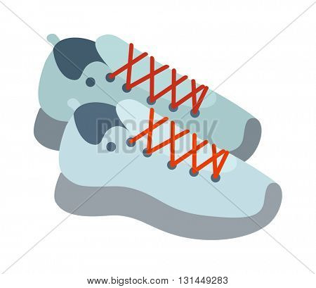 Sneakers vector illustratioon.