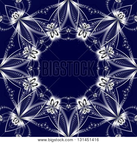 Beautiful background with floral circle ornament. You can use it for invitations notebook covers phone cases postcards cards ceramics carpets and so on. Artwork for creative design art and entertainment.