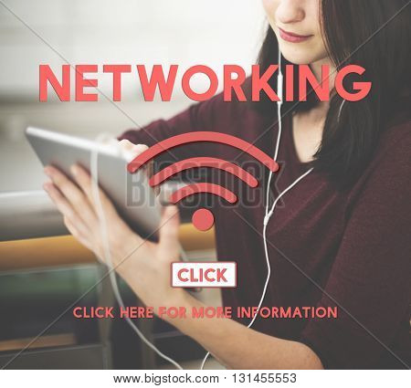 Networking Wireless Internet Online Concept