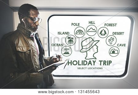 Holiday Trip Adventure Travel Journey Experience Concept
