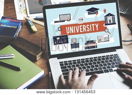 University Academic Campus College Education Concept