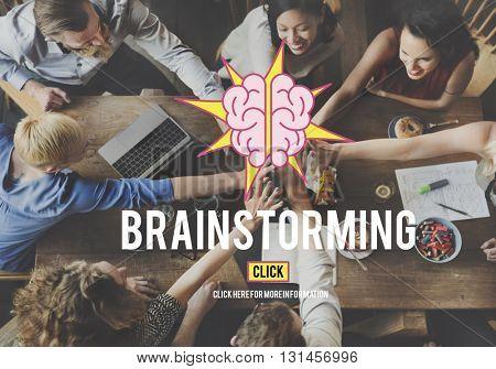 Ideas Brainstorming Vision Innovation Think Big Concept