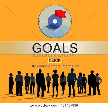 Goals Success Aim Aspiration Concept