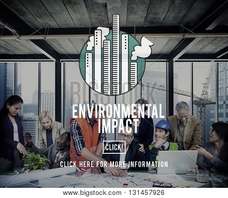 Environmental Impact Conservation Ecology Help Concept