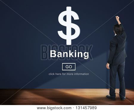 Banking Currency Finance Economics Concept
