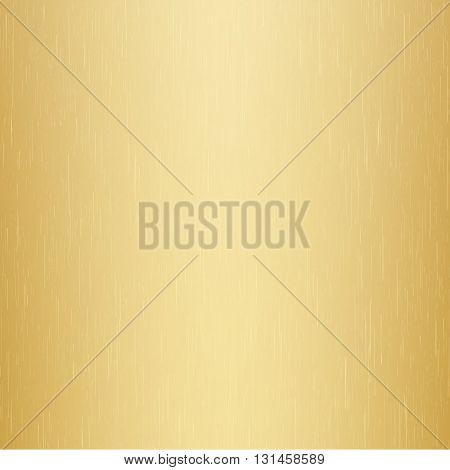 gold polished metal, gold texture. vector illustration