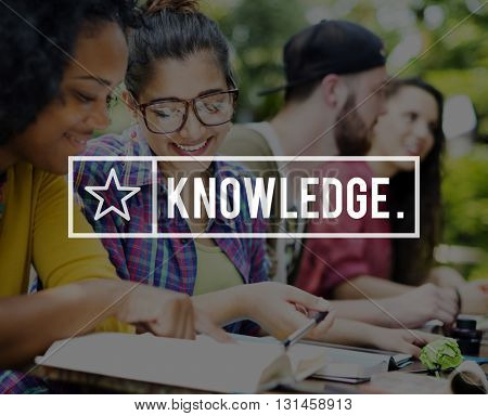 Knowledge Friends Learning Education Studying Concept