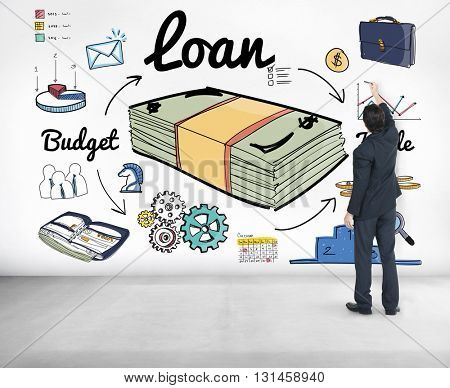 Loan Finance Economy Banking Accounting Concept