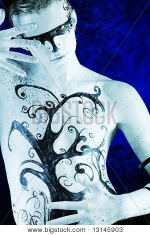 Body painting project: art, fashion, beauty