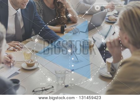 Planning Progress Discussion Strategy Brainstorming Concept