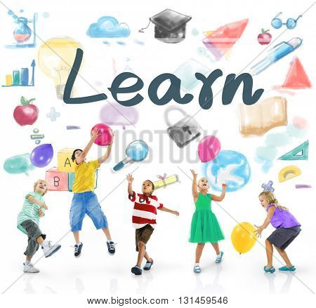 Learn Education Learning Progress Improvement Concept