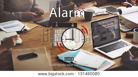 Alarm Appointment Organizer Plan Reminder Concept