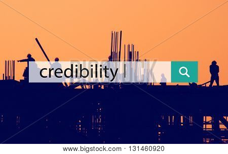 Credibility Information Inspiration Integrity Concept