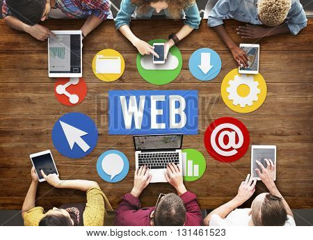 Web Website Browsing Internet Online Concept