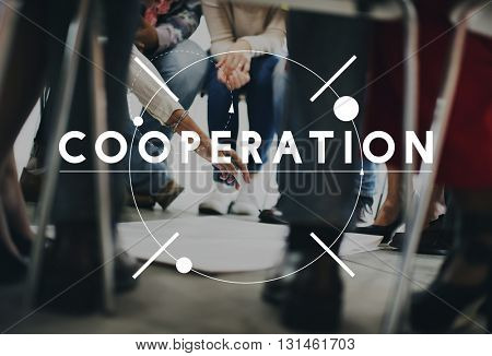 Cooperation Team Collaboration Group Concept