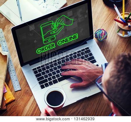 Browsing Network Internet Software Technology Concept