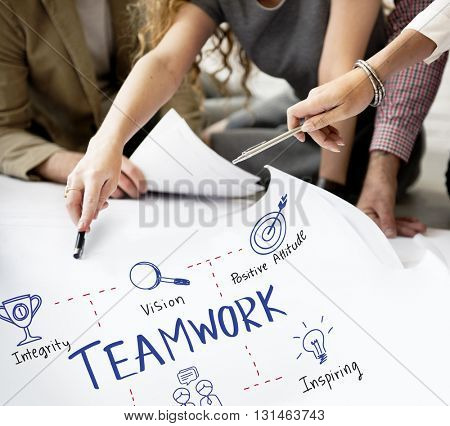 Teamwork Alliance Collaboration Company Unity Concept