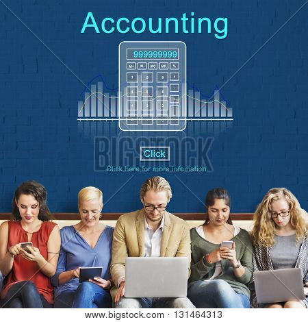Accounting Finance Calculate Computation Concept